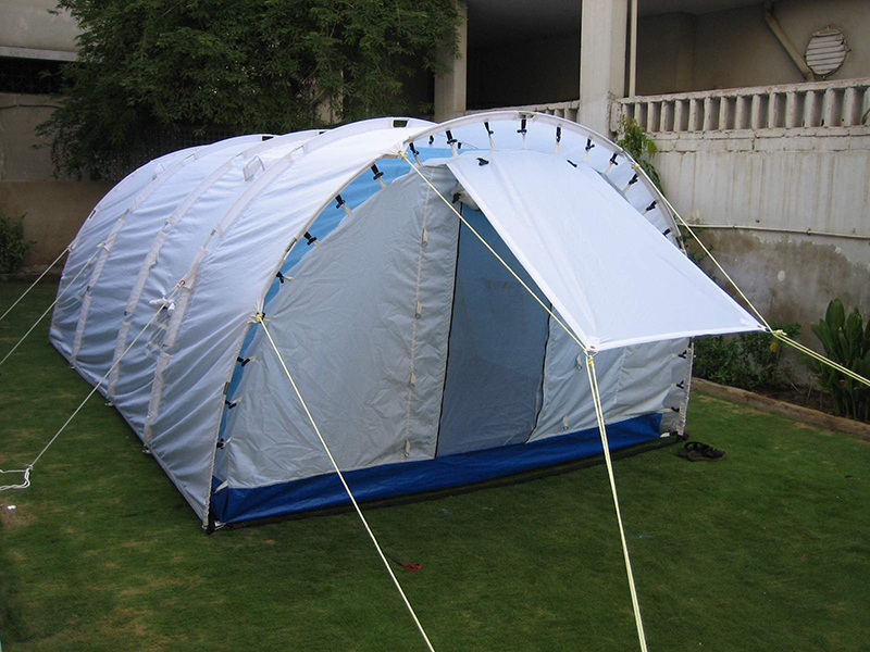 Download PDF & UNHCR Tunnel Tent | National Tent House