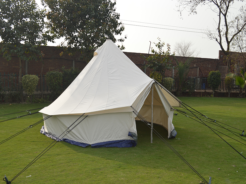 Download PDF & Family Round Tent | National Tent House