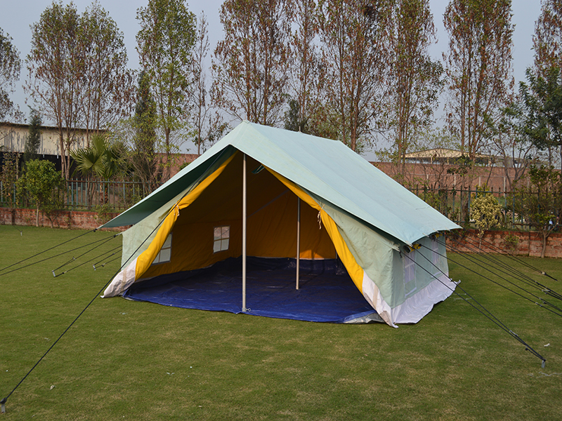 Double Fly Double Fold Ridge Tent (DFID Type) & Products | National Tent House