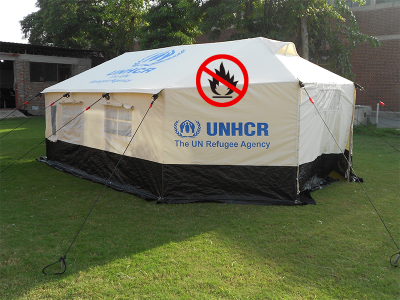 Download PDF & Family Frame Tent Fire Retardant (UNHCR/IFRC/ICRC Type) | National ...
